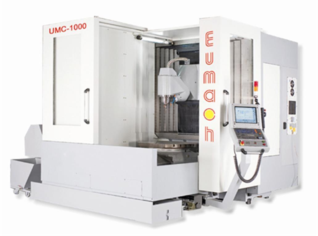 5-Achs UMC-1000 mit B- und C-Achse EUMACH