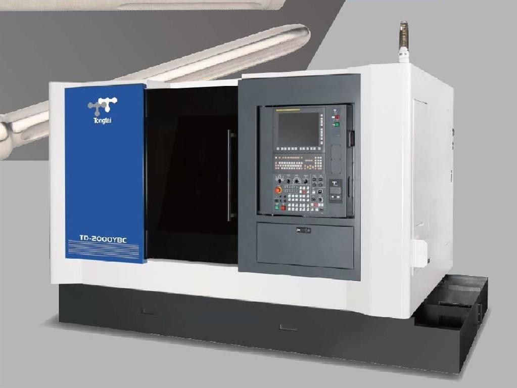 TD-2500YBC (C-/Y-Achse und Gegenspindel) KRAFT